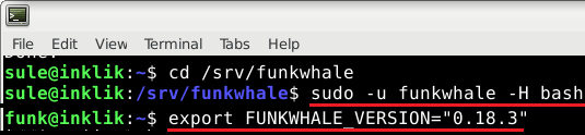 funkwhale login