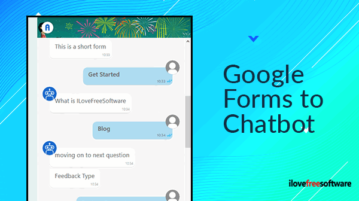 google forms to chatbot