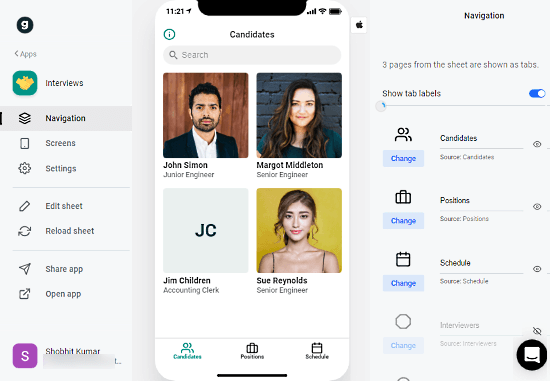 make_mobile_app_from_google_sheets-01-Navigation
