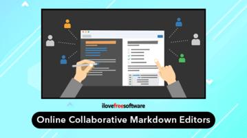 online collaborative markdown editors