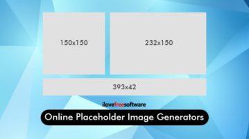 online placeholder image generators