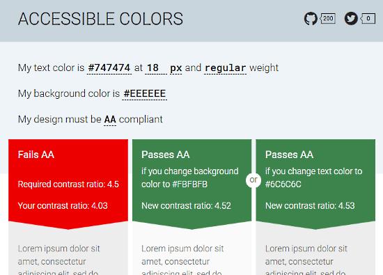 test color contrast online