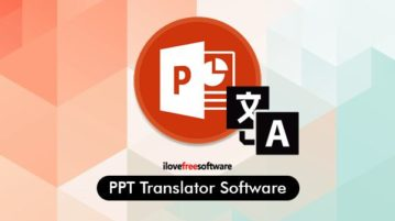 ppt translator software for windows