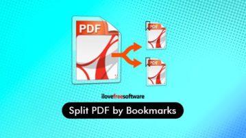 split pdf by bookmarks
