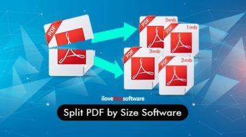 split pdf by size software