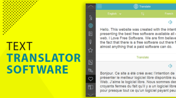 text translator software