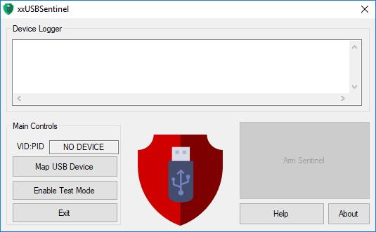 xxUSBSentinel interface