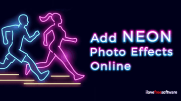 Add Neon Photo Effects Online