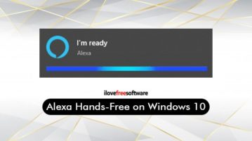 Alexa hands-free mode on windows 10