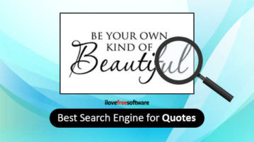 Best Search Engine for Quotes
