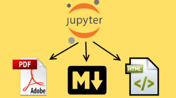 Convert Jupyter Notebook to HTML, PDF, Markdown with this tool