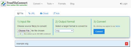 Convert ODG to SVG Online