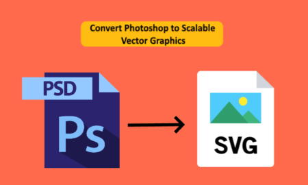 Convert PSD to SVG in Windows