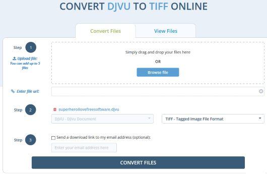 DocsPal DjVu to TIFF