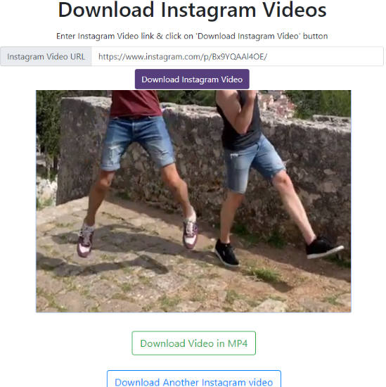 DownloadInstagramVideos