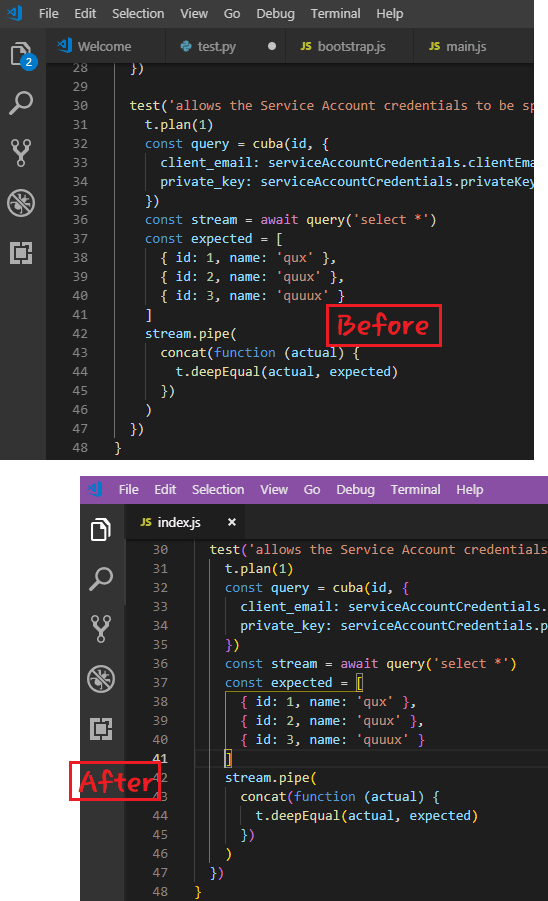 Free VS Code Plugin to Identify Matching Brackets with Colors