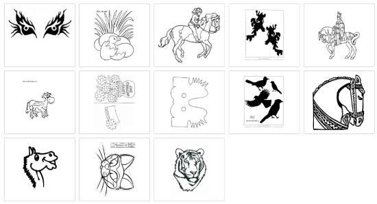Get printable stencils