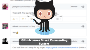 GitHub Issues Based Website Commenting System