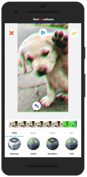 Glitch Video Maker Android App