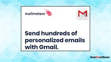 Gmail mail merge extension