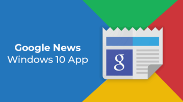 Google News Windows 10 App