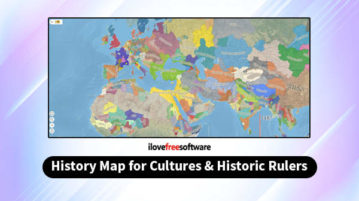 History Map for Cultures and Historical Rulers