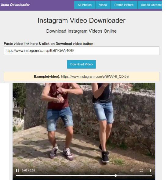 5 Online Instagram Boomerang Download Free Websites