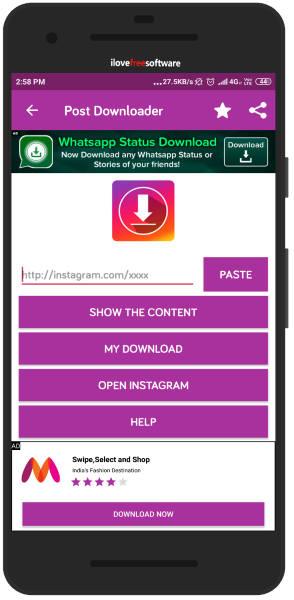 Instagram Boomerang Downloader Android App