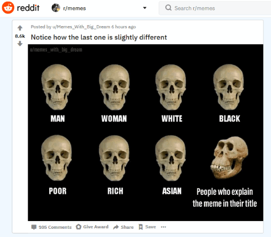 Memes subreddit