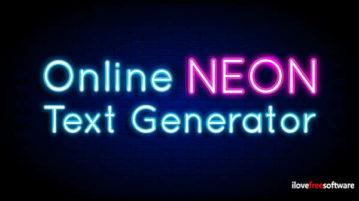 Online Neon Text Generator