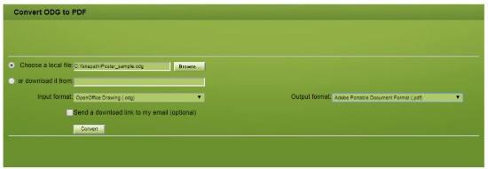 5 Free Online ODG to PDF Converter