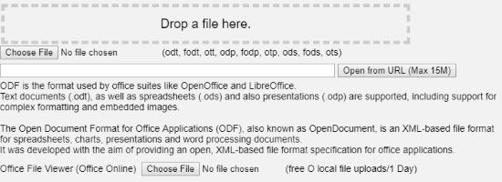 Open File Format Online