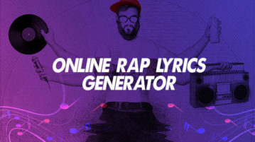 Online Rap Lyrics Generator