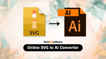 Online SVG to AI Converter