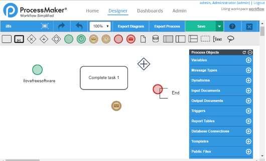 ProcessMaker- interface