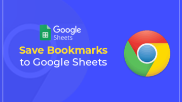Save bookmarks to Google Sheets