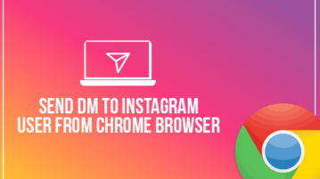 Send DM to Instagram user from Chrome browser