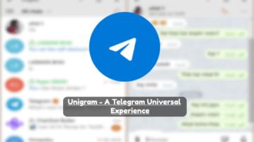 Unigram a Telegram Client for Windows 10