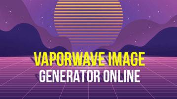Vaporwave image generators online