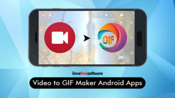 Video to GIF Maker Android Apps
