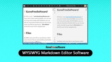 WYSIWYG Markdown Editor Software