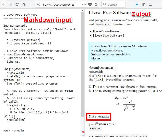 Writing WYSIWYG Markdown Editor software
