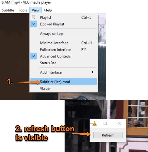 activate subtitler lite mod extension