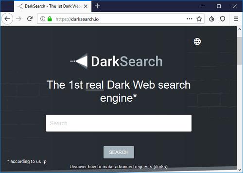 dark web search engine