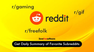 get daily summary of favorite subreddits
