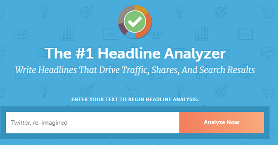 headlines analyzer interface