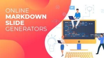 online markdown slide generators