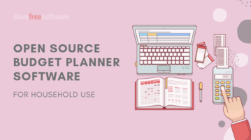 4 Open Source Budget Planner Software for Windows