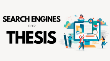 5 Free Search Engines for Thesis