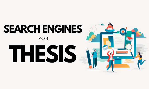 Search engine for phd thesis